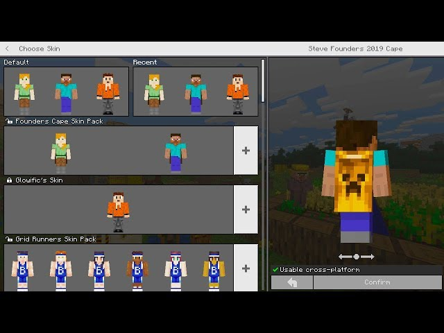 How To Get Free Skins Minecraft Windows 10