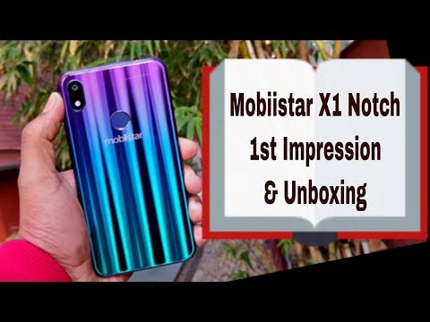 Mobiistar X1 Notch: Unboxing & First Look