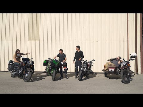 The Strangest Motorcycle Comparison Ever – On Two Wheels