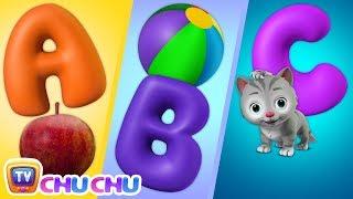 ABC Song with ChuChu Toy Train - Alphabet Song for Kids - ChuChu TV
