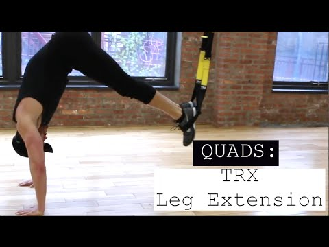 TRX Leg Extension