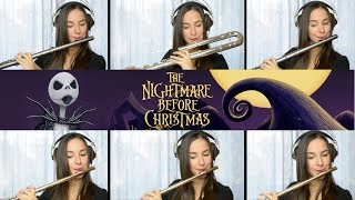 The Nightmare Before Christmas: This Is Halloween on Flute + Sheet Music!