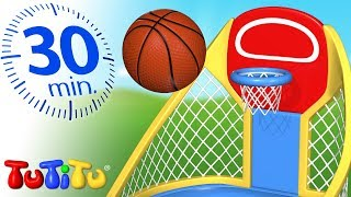 TuTiTu Specials | Basketball | Outdoor Activities | 30 Minutes Special