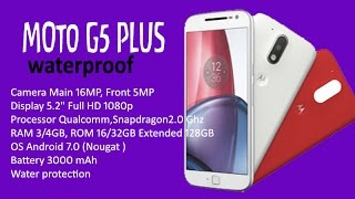 Best Of MOTO G5 Plus Specifications | TOP 7 Best Features | TIPS & TRICKS