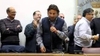 preview picture of video 'Elezioni 2012, Villafranca: De Marco ed i candidati al consiglio ringraziano gli elettori (2 di 2)'
