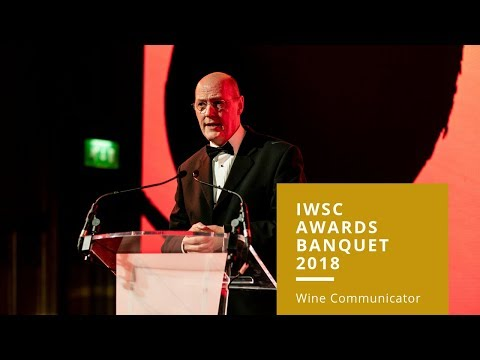 IWSC Awards Banquet 2018 - Wine Communicator of the Year