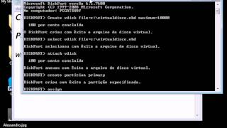 Criando Disco Virtual - VHD nativo do Windows