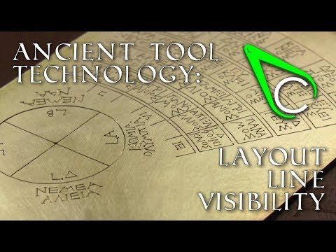 Clickspring: Antikythera Fragment #8 - Layout Line Visibility