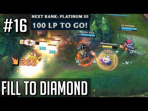 League of Legends but Filling to Diamond has made me an NPC