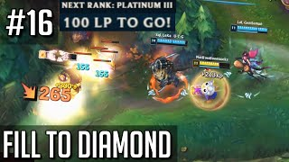 League of Legends but Filling to Diamond has made me an NPC