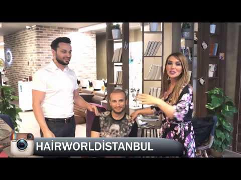 HAIRWORLDISTANBUL FUE CT TECHNIEK MET BEKENDE TURKSE PRESENTATRICE  SEREN SERENGIL