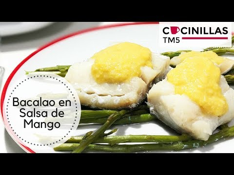 Bacalao en Salsa de Mango | Recetas Thermomix