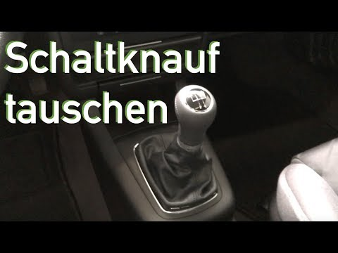 Schaltknauf tauschen, ausbauen Audi A3 8l