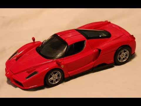 Review - 1:18 Scale Hot Wheels Ferrari Enzo