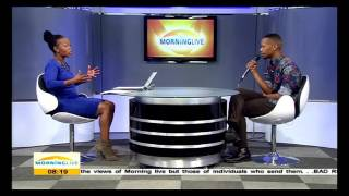 "Nakhane Touré of the hit track ""We dance again"" talks about his music"