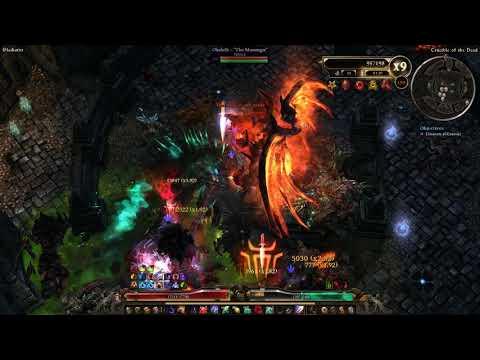 Grim Dawn 1 0 7 1] 151-170 Crucible, Ulzuin Fire Strike