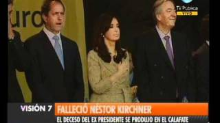Visión Siete Falleció Néstor Kirchner 3