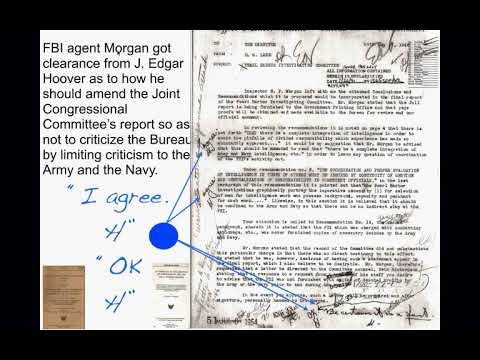 J. Edgar Hoover, Kimmel & Kimmel--PEARL HARBOR