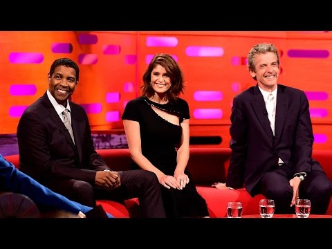 Peter Capaldi a Denzel Washington u Grahama Nortona