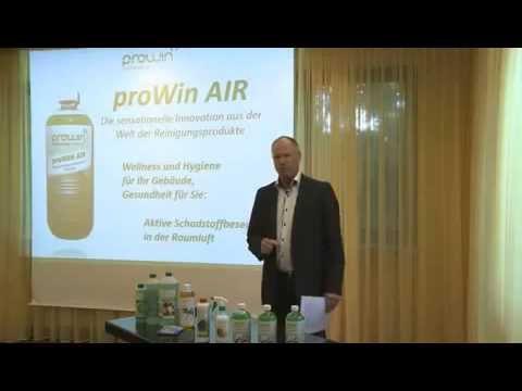 ProWIN AIR  neutralisiert schlechte Gerüche