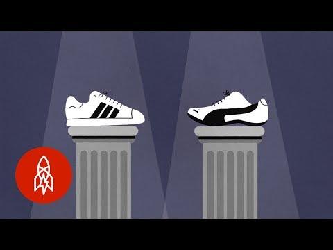 The Sibling Rivalry Behind Adidas Versus Puma