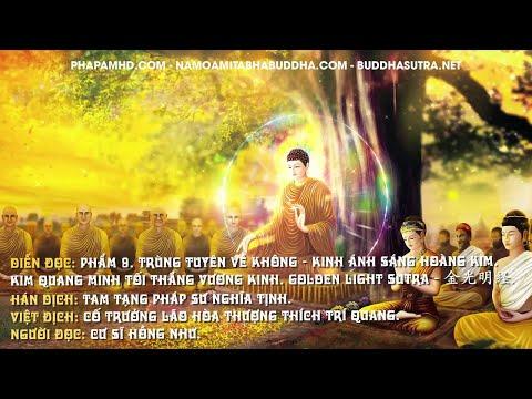 Phẩm 9. Trùng Tuyên Về Không - Kinh Ánh Sáng Hoàng Kim