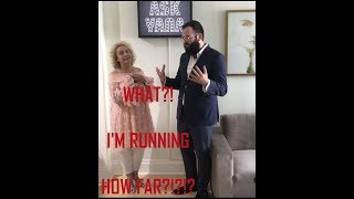 Ask Yana Yorkville Charity Run- Interview with the Rabbi