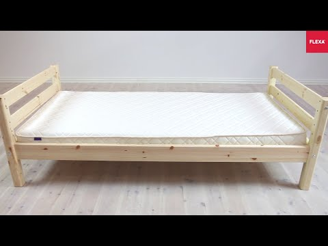 FLEXA Classic Single Bed Assembly Instruction