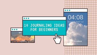 10 Things to Write in your Journal || What to write in a journal || Scintillare