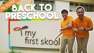 CHRIZI GOES BACK TO PRESCHOOL! | TSL Vlogs