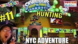 Skylanders Swap Force NYC Time Square Hunting/Adventure NY Toy Fair '14 (+contest) pt. 11 at TRU