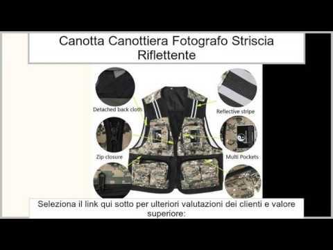Maglia Di Pesca Gilet Canotta Canottiera Di Viaggio Fotografo Giacca Striscia Riflettente