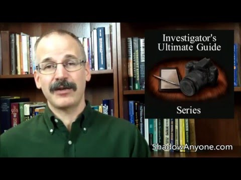 The BEST and maybe only reason to be a private investigator. Plus a warning!