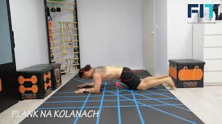 Plank na kolanach – CC018