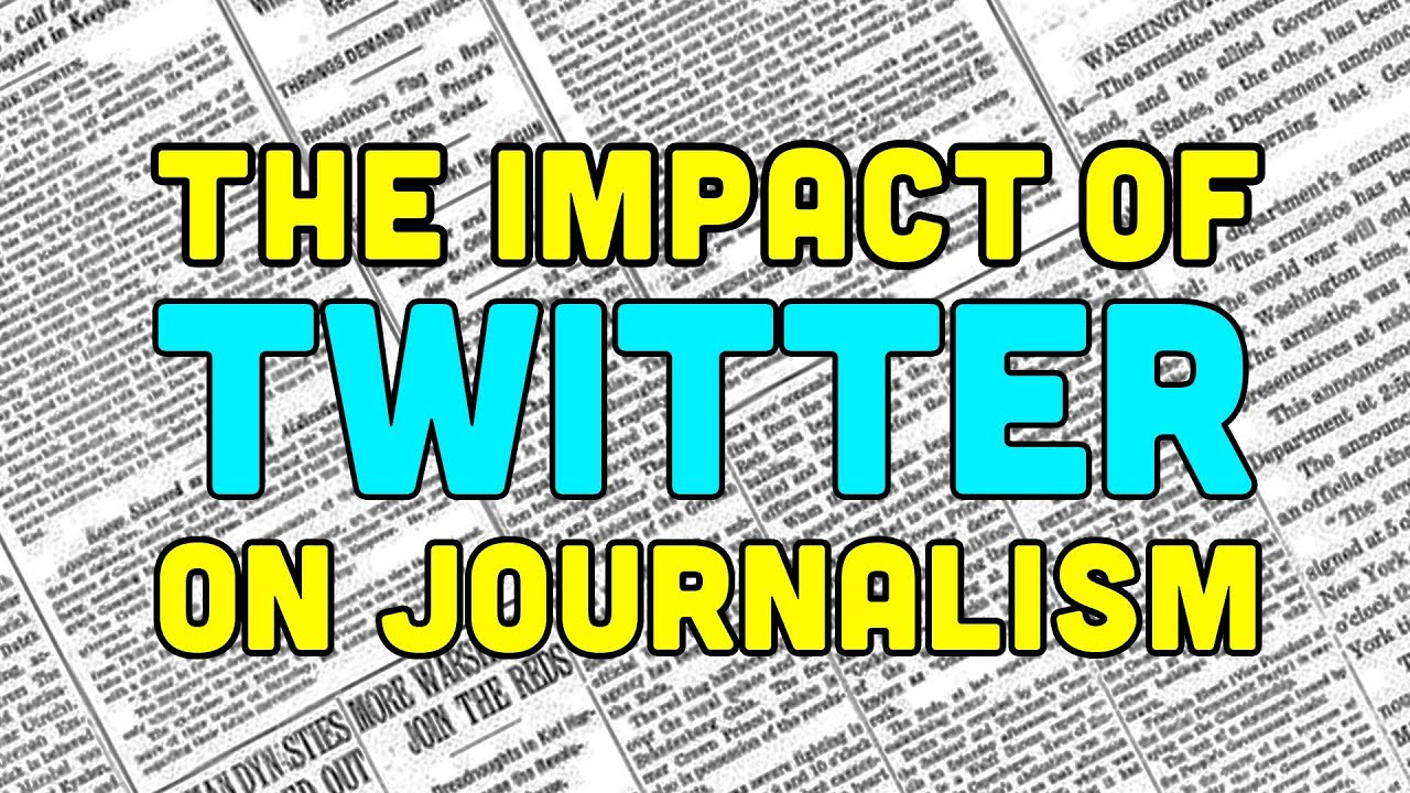 Is Twitter Ruining Journalism Or Making It Better?