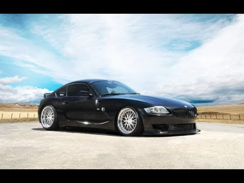 Slamming the Z4 on Massive wheels + 350z front bumper removal !
