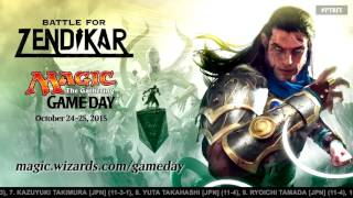 Pro Tour Battle for Zendikar Round 16 (Standard) and Top 8 Announcement