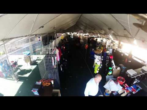 Time Lapse Video of Tent Sale Set Up
