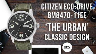 Citizen Eco Drive BM8470-11EE 'The Urban' - Recensione