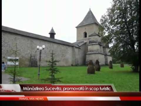 Manastirea Sucevita, promovata in scop turistic.
