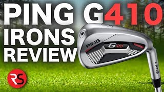 Ping Golf Face A HUGE Challenge   G410 IRONS REVIEW