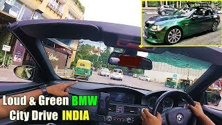 Driving GREEN BMW M3 Convertible in INDIA - FAST & LOUD