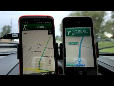 Drive Test: iOS 6 Turn By Turn versus Google Maps and Navigation