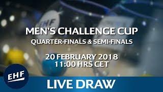 Men's Challenge Cup 2017/18 Quarter-finals & Semi-finals Draw | Kholo.pk
