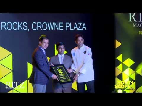 On The Rocks, Crowne Plaza wins the award for Best Continental Cuisine in a 5 star hotel