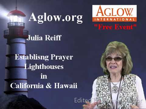 Studio 39 TV: AGLOW Julia Reiff California Hawaii State Prayer Coordinator