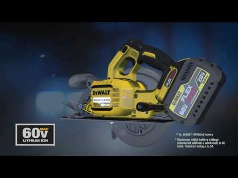 How DEWALT FLEXVOLT™ 20V/60V* MAX Batteries Work