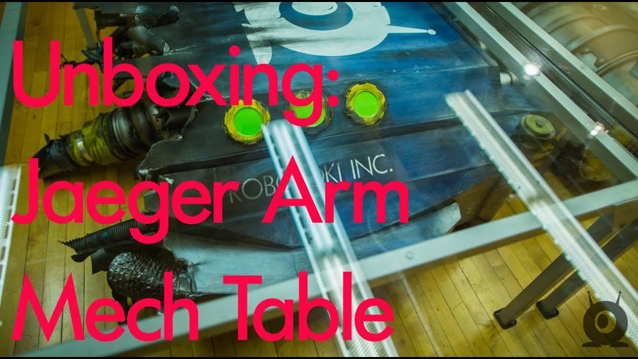A Pacific Rim Table With A Massive Mech Hand Is The Best Kind Of Table