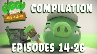 Angry Birds | Piggy Tales | Pigs At Work   Compilation Ep14 26