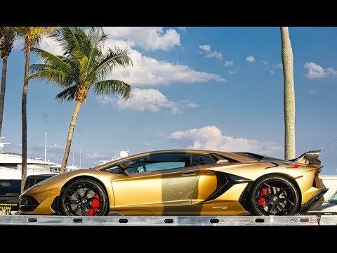 Lamborghini Aventador Huracan With Insane Wraps Bugatti Chiron